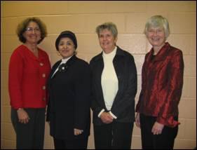 Faye Murrin, Mona El-Tahan, Carolyn Emerson, Mary Williams
